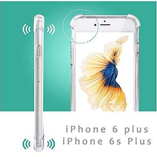 OOKOO iPhone 6 Plus Case, Transparent TPU Case Cover For iPhone 6 plus / iPhone 6s Plus 5.5