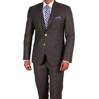 02f3d247c63 Merakapda Men's 3 Meter Brown Suit Length (Unstitched Fabric)