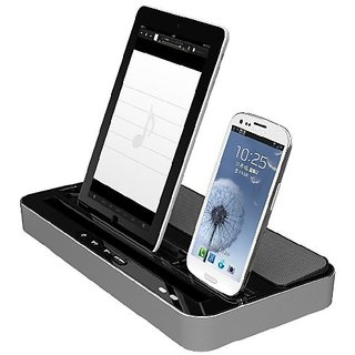 IPEGA Speaker and Charger 2 in 1 Stand Mount Cradle Multi-Function Docking Station for iPhone 5/4/4S,iPad 2/3/4/iPad min