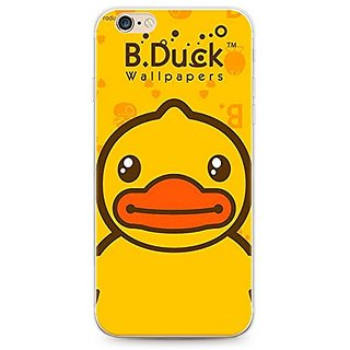 iPhone 6s Plus case, Geekmart Cute Soft Silicone Cartoon Rubber Ducky Cover Case 5.5 inch