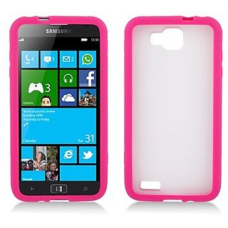 Aimo Wireless SAMT899PCTPU005 Hybrid Sensual Gummy PC/TPU Slim Protective Case for Samsung Ativ S T899 - Retail Packagin