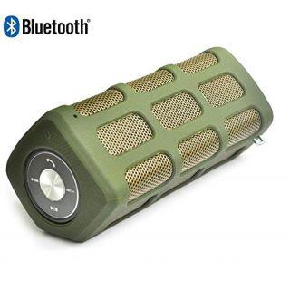 Waterproof Portable Bluetooth Speakers, Vabogu Bluetooth CSR 4.0 IP65 with Hand Free Function & Build in Power Bank 7000