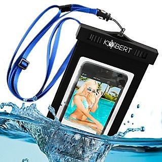 Kobert Waterproof Case (Deluxe) - Dry Bag Fits iPhone 6 Plus, 6, 5, Samsung Galaxy s6, s5, Note 4 - Protection...