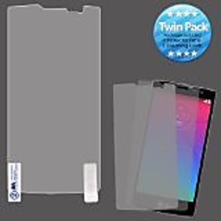 MyBat Screen Protector Twin Pack for LG H443 Spirit - Retail Packaging - Clear