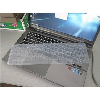 Avigator Clear Ultra Thin Silicone Keyboard Protector Skin Cover for Silicone Keyboard Protector Skin Cover for Acer Asp
