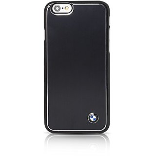 BMW Signature Collection Hard Case Brushed Aluminium for iPhone 6 Plus/6s Plus - Black