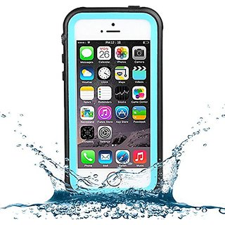 iPhone SE Waterproof Case iPhone 5/5S Waterproof Case,Caka Full-Body Underwater Waterproof Shockproof Dirtproof Durable