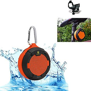 iNINJA(TM)Waterproof Bluetooth Speaker V4.0,Outdoor & Indoor Portable Shower Speaker Built-In Rechargeable Battery with