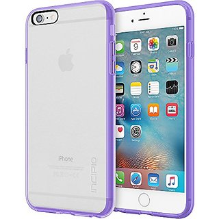 Incipio Impact Absorbing Carrying Case for iPhone 6 Plus/6s Plus - Retail Packaging - Clear/Lavender