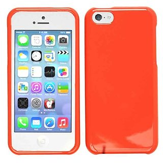 Cell Armor Snap-On Cover for iPhone 5C - Retail Packaging - Honey Dark Red
