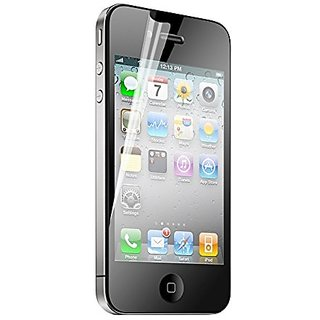 iHome Crystal Clear-Screen Protector for iPhone 4/4S - Retail Packaging - Clear
