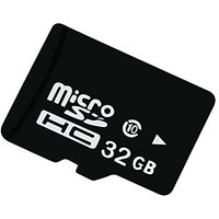 Reiko 32Gb Class 10 MicroSDHC Memory Card - Retail Packaging - Black