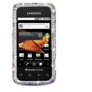 Aimo Wireless SAMM820PCDI168 Bling Brilliance Premium Grade Diamond Case for Samsung Galaxy Prevail/Precedent M820 - Ret