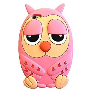 iPhone 6S Case, MC Fashion Cute 3D Night Owl Soft Silicone Case Skin Protective Cover Compatible for Apple iPhone 6S 4.7