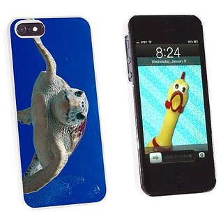 Graphics and More Loggerhead Sea Turtle - Ocean Scuba Diving Snap-On Hard Protective Case for Apple iPhone 5/5s - Non-Re