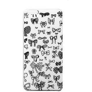 Iphone Case,iphone 6 Cases,iphone 6 Plastic Cases, with Relief Texture for Iphone 5/5s/6/6+ (Cute Bows iphone 5/5s)