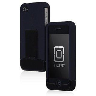 Incipio Triad for iPhone 4 - 1 Pack - Carrying Case - Retail Packaging - Black