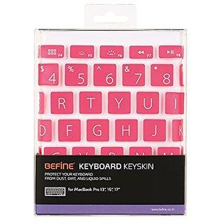 Keyboard Keyskin Design Pink for MacBook Pro 13/15