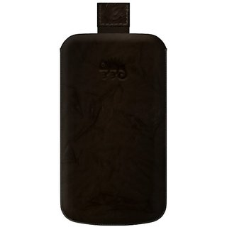 KATINKAS 2108047028 Special Effect Leather Case for Sony Ericsson Xperia Ray - 1 Pack - Retail Packaging - Brown