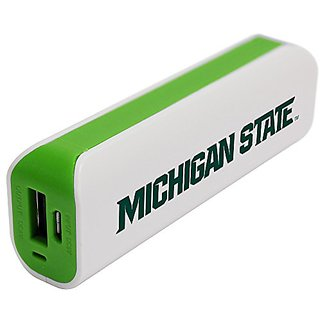 NCAA Michigan State Spartans APU 1800GS USB Mobile Charger, White