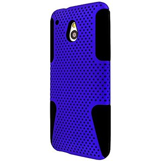 Empire MPERO FUSION M Series Protective Case for HTC One Mini M4 - Retail Packaging - Blue/Black