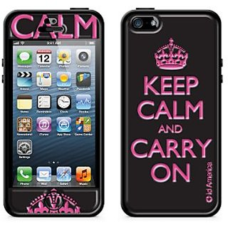 id Americaid America CSIAF519-BLK Cushi Plus Calm Complete Protection Kit for iPhone 5 - Retail Packaging - Black...