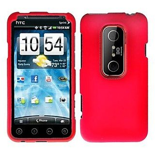 Aimo Wireless HTCEVO3DPCLP003 Rubber Essentials Slim and Durable Rubberized Case for HTC EVO V 4G/EVO 3D - Retail Packag