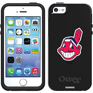 Coveroo Cleveland Indians Mascot Design Phone Case for iPhone 5s/5 - Retail Packaging - Black