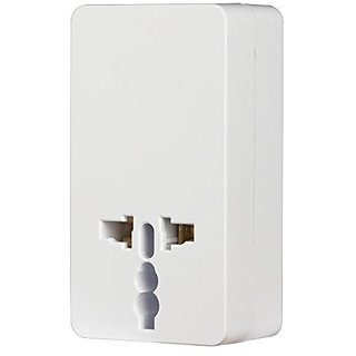 RCA Universal Travel Plug Adapter and USB Charger - Retail Packaging - White