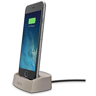 mophie juice pack Desktop Dock for iPhone 6/5s/5 - Gold