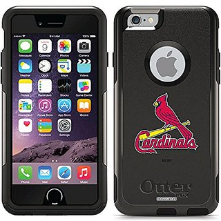 Coveroo St. Louis Cardinals 1 Design Phone Case for iPhone 6 - Retail Packaging - Black