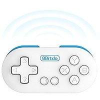 8bitdo Zero Portable Wireless Game Console, Bluetooth Game Controller With Camera Self Shutter Function, Gamepad For And