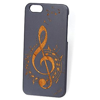 Custom Engraved Music 2 Blue Wood Case For iPhone 5/5s/SE, iPhone 6/6s and iPhone 6 Plus/6s Plus (iPhone 6/6s)