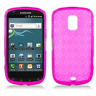Aimo Wireless SAMR940SKC232 Soft and Slim Fabulous Protective Skin for Samsung Galaxy S 4G R940 - Retail Packaging - Pin