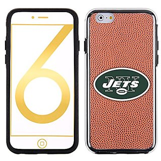 NFL New York Jets Classic Football Pebble Grain Feel No Wordmark iPhone 6 Case, Brown
