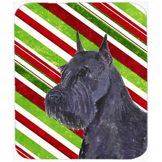 Carolines Treasures Mouse/Hot Pad/Trivet, Schnauzer Candy Cane Holiday Christmas (SS4592MP)