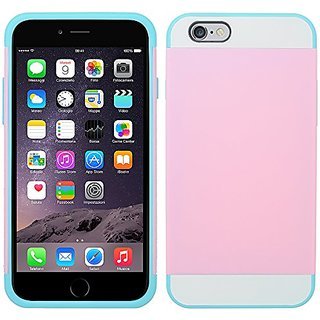 Zizo M-CASE Hybrid Cover for iPhone 6 Plus - Retail Packaging - Light Pink