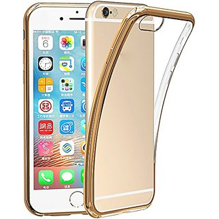 AmanStino Apple iPhone 6/6s Case Shock-Absorption Bumper and Anti-Scratch Clear Back for iPhone 6s iPhone 6 gold