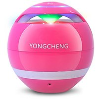 Bluetooth Speakers, YongCheng Portable Wireless Bluetooth Speaker With Colorful LED Light And Compatible With All Blueto