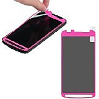 MyBat Samsung i537 Coating Screen Protector - Retail Packaging - Clear/Pink