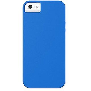 X-Doria 409575 Soft Case for iPhone 5 - 1 Pack - Retail Packaging - Blue