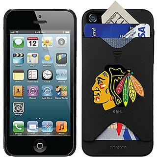 Coveroo Thinshield Card Case for iPhone 5/5s - Retail Packaging - Black/Chicago Black