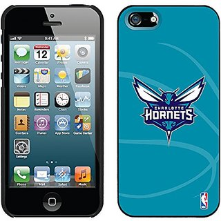 Coveroo Thinshield Snap-On Case for iPhone 5s/5 - Retail Packaging - Charlotte Hornets Basketball Design