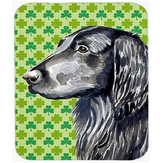 Carolines Treasures Mouse/Hot Pad/Trivet, Flat Coated Retriever St. Patricks Day Shamrock (LH9186MP)
