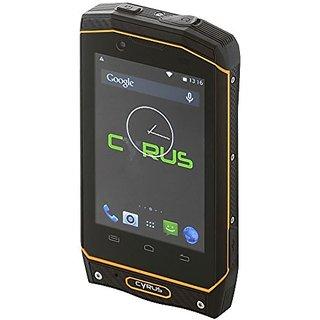 Cyrus CS19 DUAL SIM WATERPROOF DUSTPROOF SHOCKPROOF Outdoor Smartphone Yellow-Black