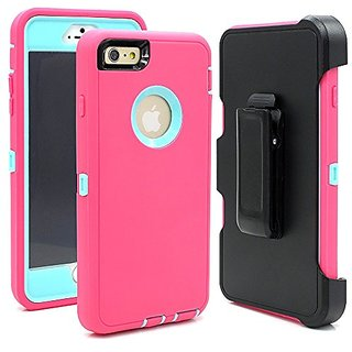 Hybrid Rubber Plastic Impact Defender Rugged Hard Case ,iPhone 6 Plus Protective Case,iPhone 6S Plus Protective Case, Sc
