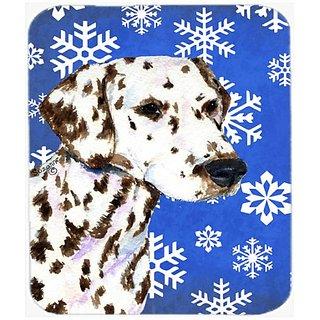 Carolines Treasures Mouse/Hot Pad/Trivet, Dalmatian Winter Snowflakes Holiday (SS4607MP)