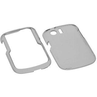 MYBAT HWM615HPCTR010NP Durable Transparent Case for Huawei Pillar M615 - 1 Pack - Retail Packaging - Smoke