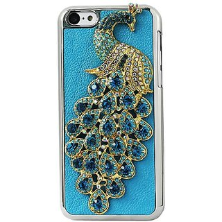 Reiko Protector Cover for iPhone5C - Retail Packaging - Blue