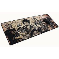 Focus Extended Speed Gaming Mousepad - Non-slip Rubber Base - 31.49 X 11.81 X 0.07 Inch - One Piece Group